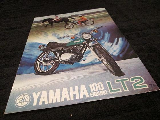 Yamaha Enduro 100 LT2 Sales Brochure