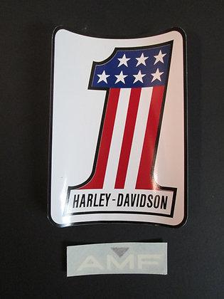 AMF Harley Davidson XR XR750 XRTT Dirt Track  Sportster XL XLCH Decal Set