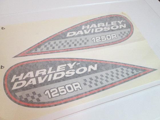 1250R Harley Davidson Tear Drop Tank Decal