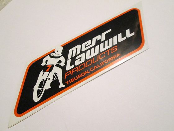 Mert Lawwill Decal Harley Racing and Frames