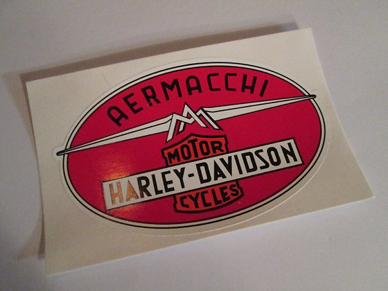 Aermacchi Decal Harley Davidson Racing and Frames