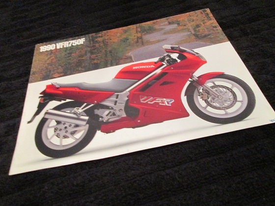 Honda 1990 VFR750F Sales Brochure
