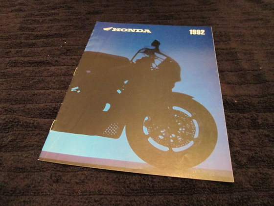 Honda 1992 Sales Brochure with Full Line Up
