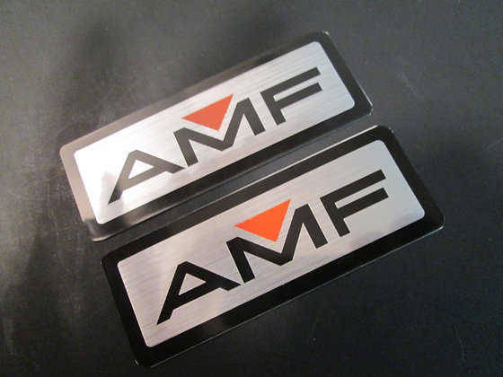 AMF Decals - Silver