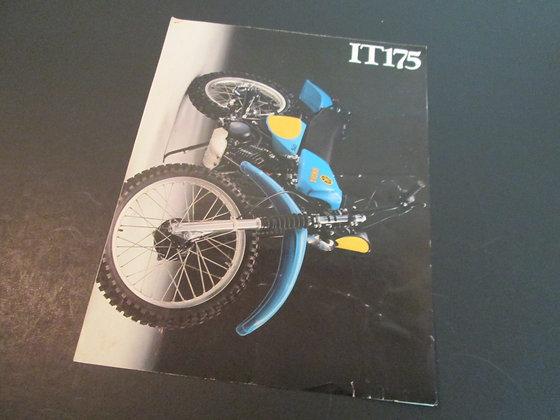 1978 Yamaha T175 Sales Brochure