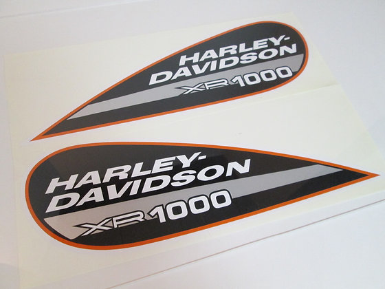 XR1000 Harley Davidson Tear Drop Tank Decal