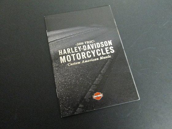 2006 VRSC Full Line Up Harley Davidson Sales Brochure
