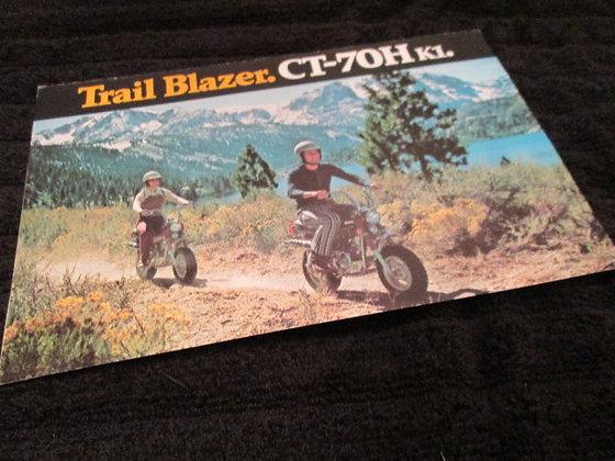 Honda CT-70 Trail Blazer Sales Flyer