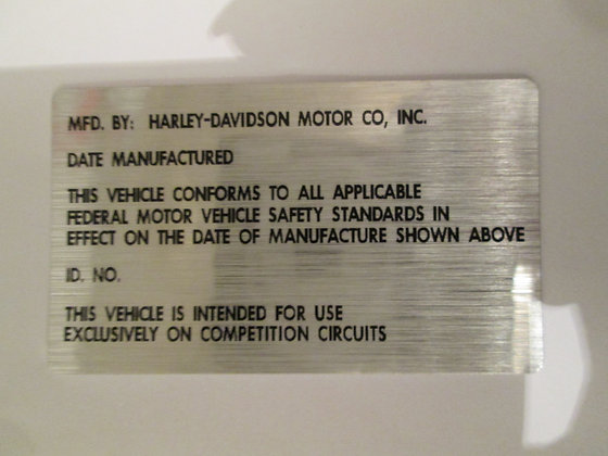 Competition Circuits Decal Harley XR XRTT