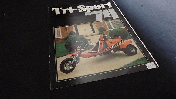 Tri-Sport 1974 Sales Brochure MTS, TS, RTS