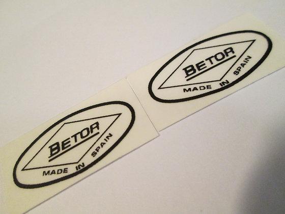 Betor Fork Decals (Pair) Harley Davidson XR XRTT