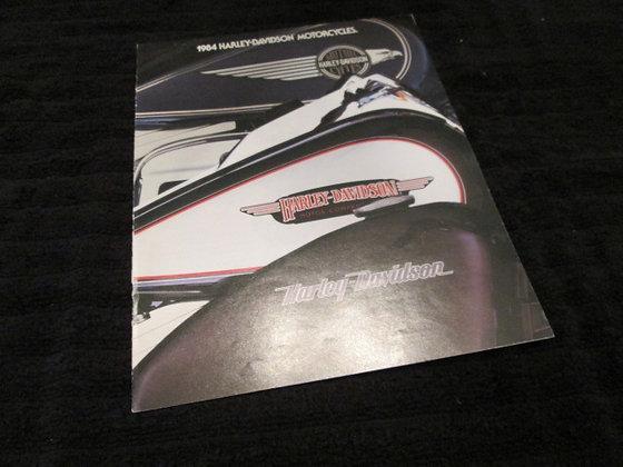 Harley-Davidson 1984 Sales Brochure Complete Line Up
