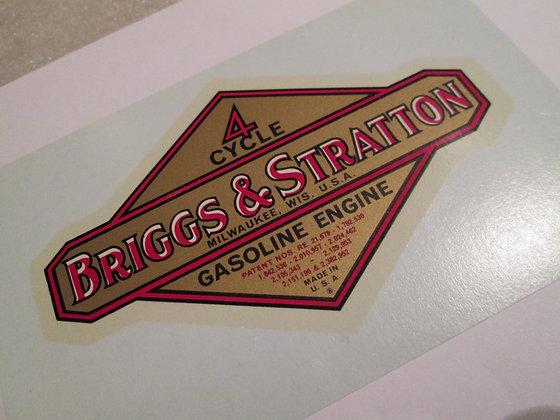 Briggs & Stratton Decal Harley Davidson