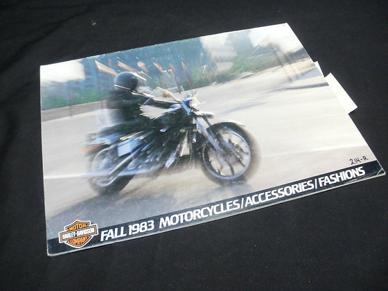1983 Fall Motorcycles Accessories and Fashions Catalog