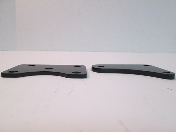 Left & Right Foot Peg Mounting Brackets Harley
