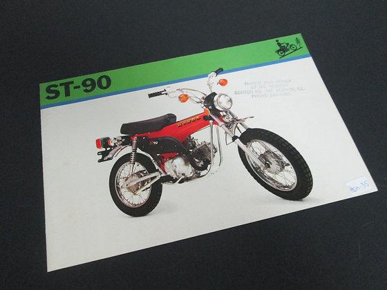 Honda ST-90 Sales Brochure