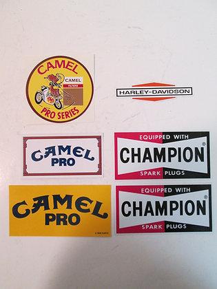 Misc. Decal Set Camel Pro Champion