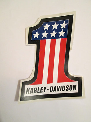 "Harley Davidson 5"" #1 Decal"