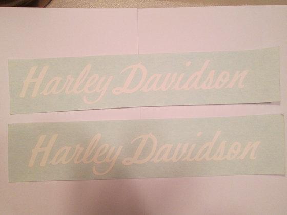 Harley Davidson Fairing Decal