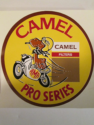 Camel Pro Series Decal Harley Racing & Frames