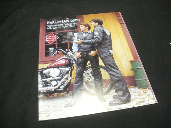 1988/89 Harley-Davidson Fashion and Collectables Fall and Winter
