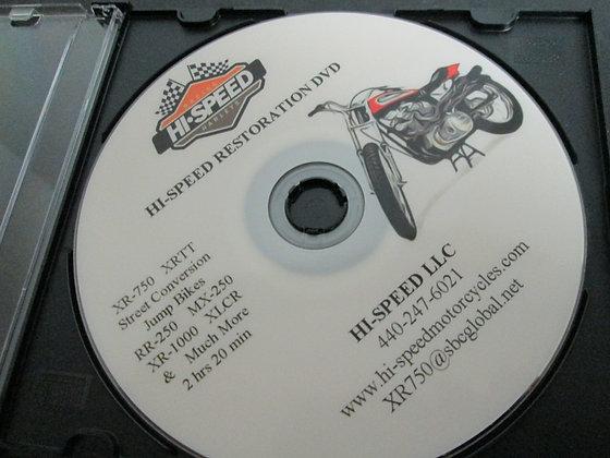 Hi-Speed Restoration DVD