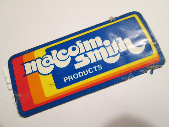 Malcolm Smith Products Decal