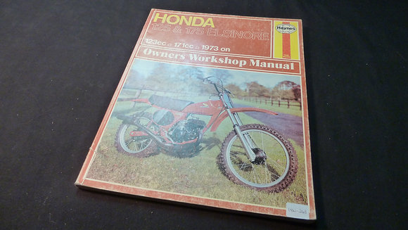 1973 Honda 125 & 175 ELSINORE Owners Workshop Manual