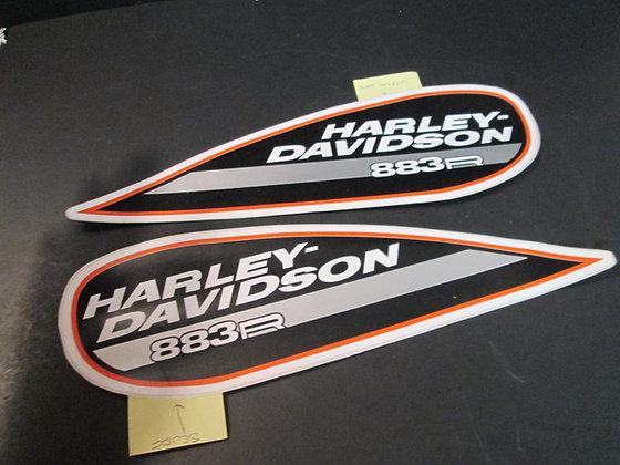 Harley Davidson 883R Tank Decals