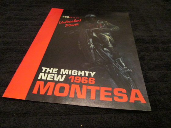 Montessa 1966 Sales Brochure