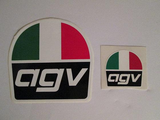 "1.5"" AGV Helmet Decal"