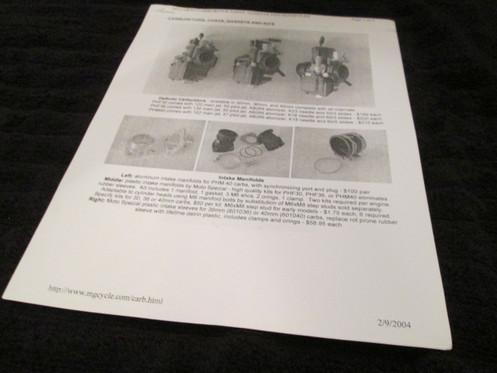 Dellorto Carburetor A Guide 1 1
