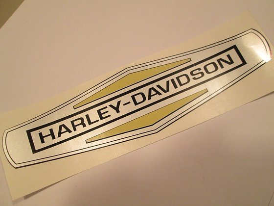 Harley Davidson Tank Decal