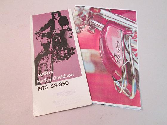 Sales Brochure Harley SS350 Sprint Electra Glide