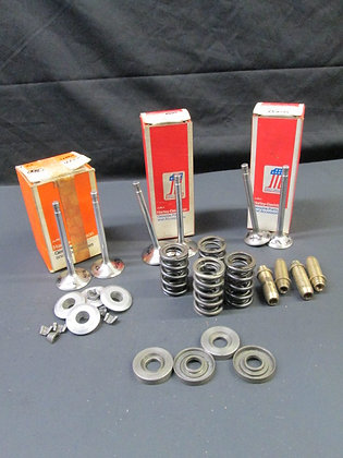 Valves, Guides, Collars, Springs