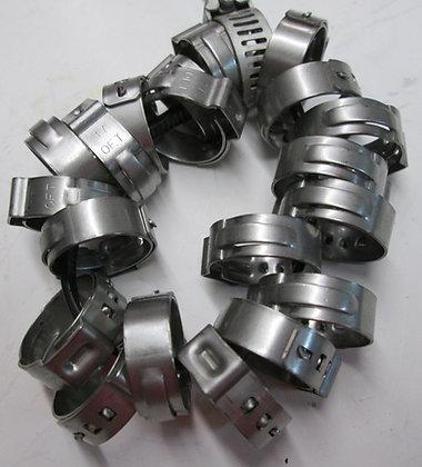 Complete Hose Clamp Fuel & Oil Line Set