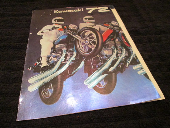 Kawasaki 1972 Sales Brochure Full Line Up