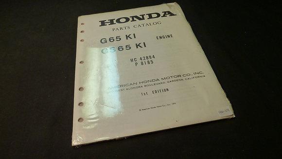 1974 Honda CB125S-S2 Parts Catalog P8129 HC39926 1st Edition