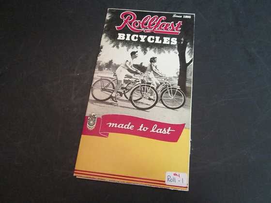 Rollfast Bicycles Sales Brochure