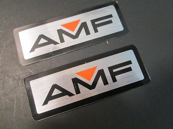 XR750 Sportster Baja Harley Dresser Pair of AMF Decals