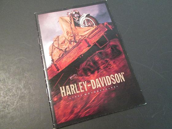 1997 Harley Davidson Full Line Up / Sportsters Sales Brochure
