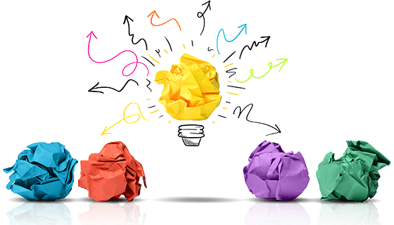 We can have a lot of ideas, but only one is enough to bring us major success