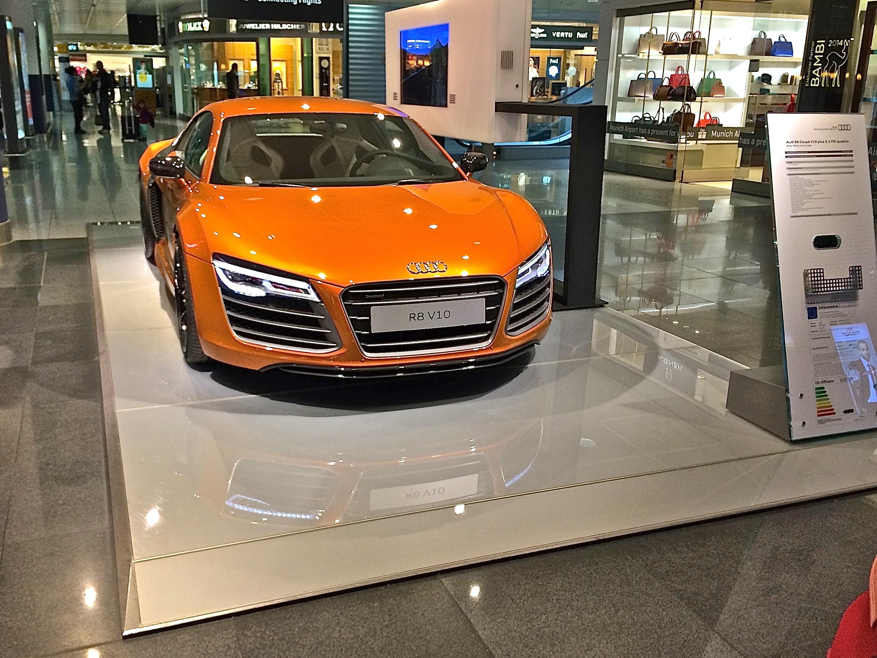 Präsentationsplattformen Audi