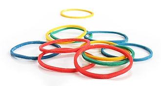 Flexible elastic bands CC0