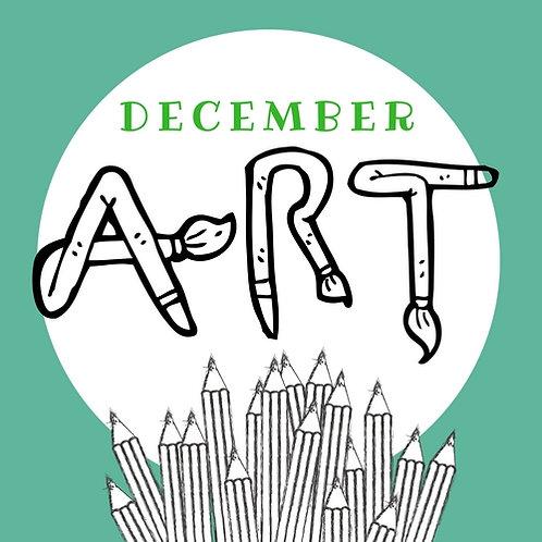December Art - 3 Classes