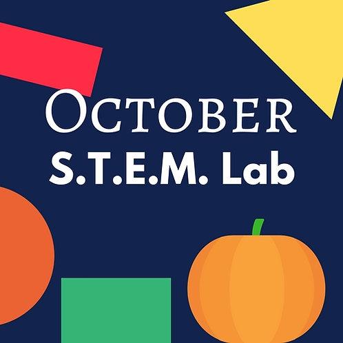 October S.T.E.M. Lab - 4 Classes