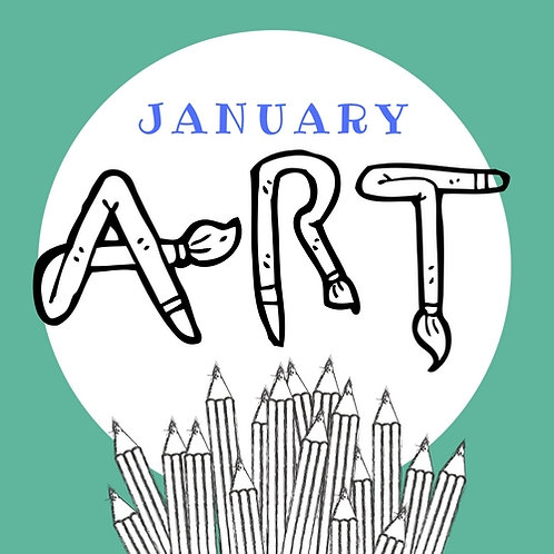 January Art -  4 Classes