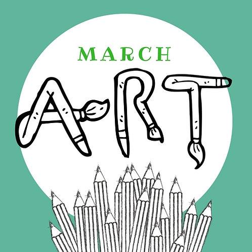 March Art - 3 Classes