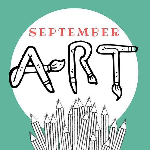 September Art - 4 Classes