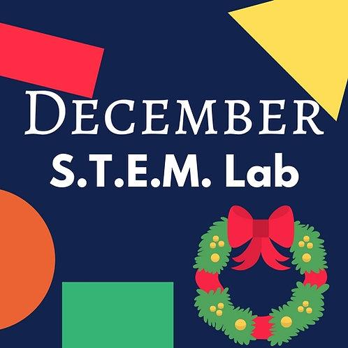 December S.T.E.M. Lab